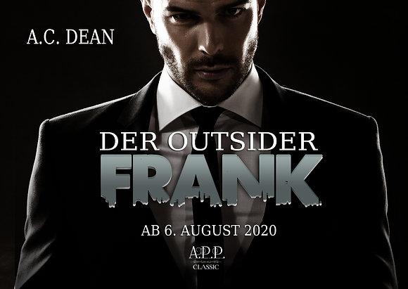 Postkarte / Lesezeichen Frank – Der Outsider