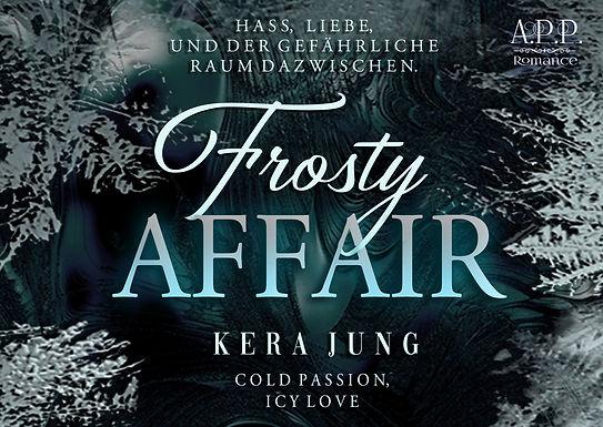 Postkarte / Lesezeichen Frosty Affair