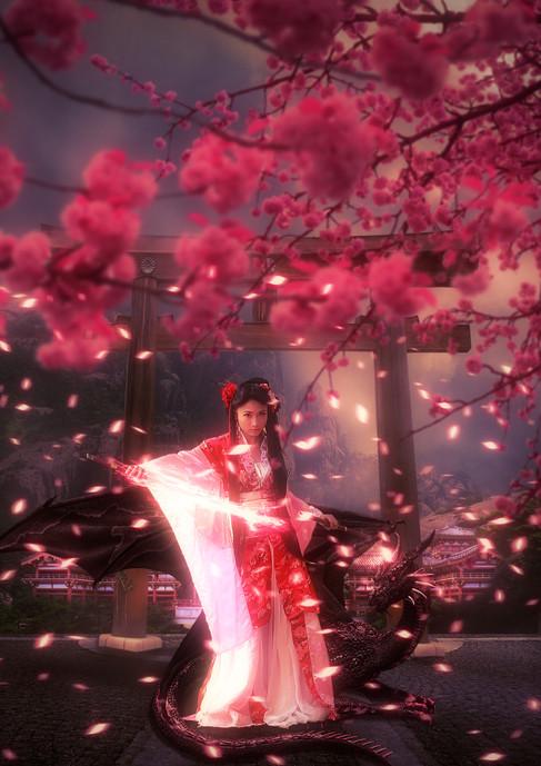 Princess of the Sakura Temple