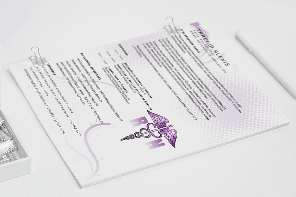 Nurse's Resume