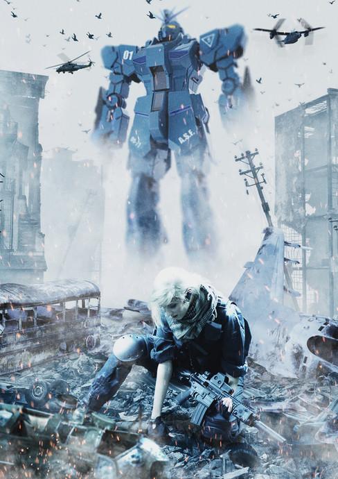 Gundam In The City