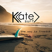 Logo -Kate surf- designed by labeuse.ch