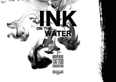Ink on the water