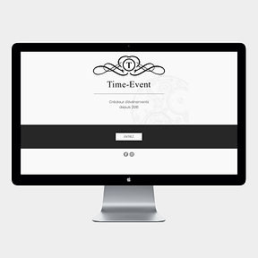 site web -Time-Event- designed by labeuse.ch