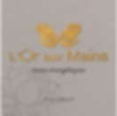 Logo -L'Or aux Mains- designed by labeuse.ch