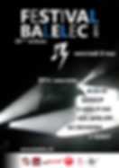 Affiche -Balelec- designed by labeuse.ch