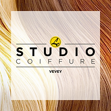 Logo -Le Studio coiffure- designed by labeuse.ch