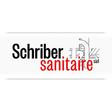 Logo -Schriber sanitaire- designed by labeuse.ch