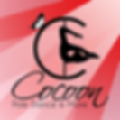 Logo -Cocoon pole dance- designed by labeuse.ch