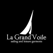Logo -La Grand'Voile- designed by labeuse.ch