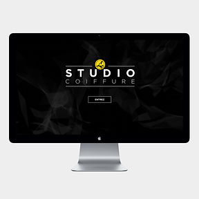 site web -Le Studio- designed by labeuse.ch