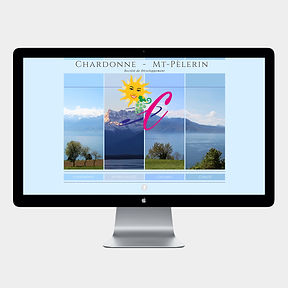 site web -Chardonne - Mt-Pèlerin- designed by labeuse.ch
