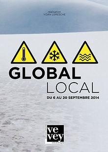 Affiche -Global Local- designed by labeuse.ch