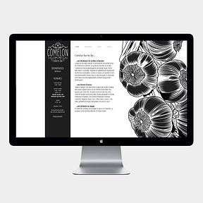 site web -Comelon- designed by labeuse.ch