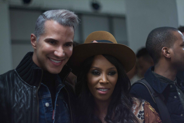 Jay Manuel with June Ambrose