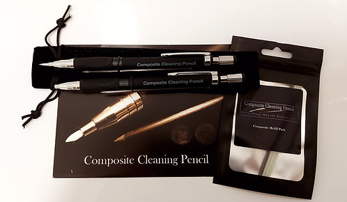 Composite Cleaning Pencils (X2) and Refill Pack