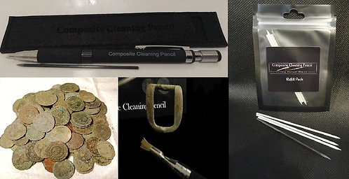 Composite Cleaning Pencil Roman Coin Cleaning Edition.