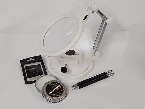 Magnifying Cleaning Station Full Kit