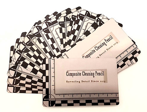 Aluminium recording feild card