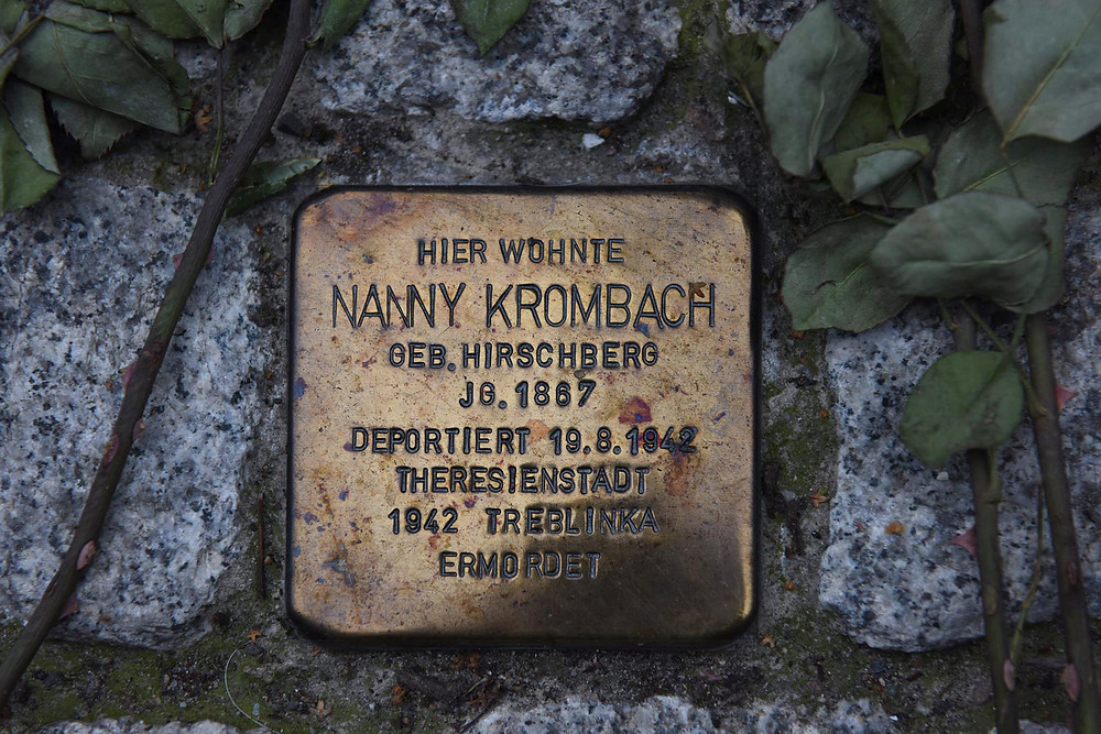 אבן נגף, נני קרומבך. גורשה לטרבלינקה 19.8.1942