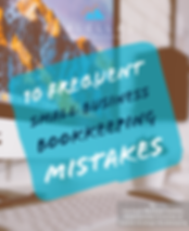 10 Frequent Small Business Bookkeeping Mistakes