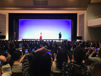 兵庫 神戸海星女子学院大学 学園祭「Stella Maris Festivel 2017」トークショー