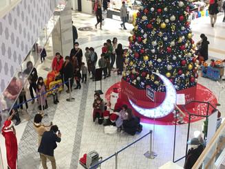 富山 商業施設 サンタクロース(2日間)