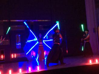 大阪 企業パーティー LEDパフォーマンス