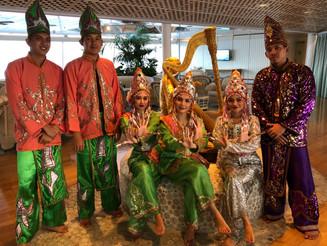 マレーシア アジアクルーズ 民族舞踊