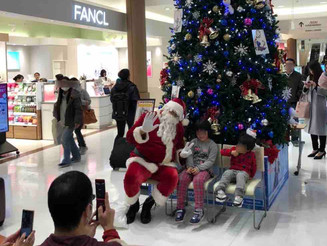 千葉 商業施設 サンタクロース(2日間)