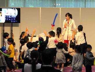 東京 科学のお姉さん&バルーンアーティスト 企業イベント