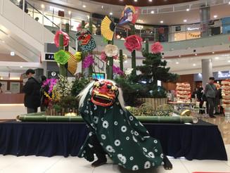 愛知 イオンモール名古屋茶屋 獅子舞