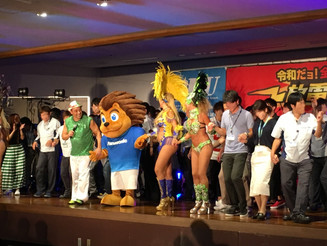 大阪 工場祭 サンバショー
