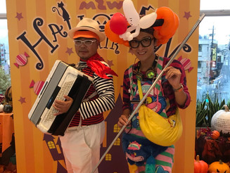 京都 商業施設 バルーン&マジックショー