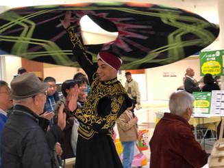 大阪 商業施設 エジプト旋回舞踊&ベリーダンス