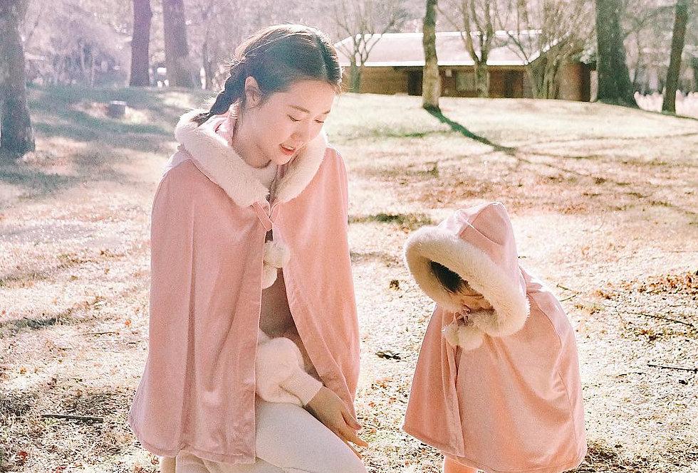 童話裡的斗蓬 Once Upon A Time Pink Cape