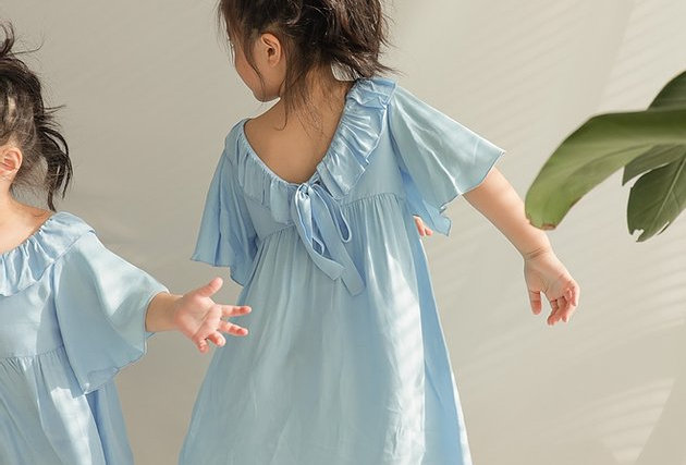 🔺Kids SALE🔻Snow Icy Satin Dress