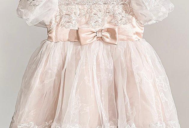 百日宴/週歲宴 Creamy Dreamy Dress