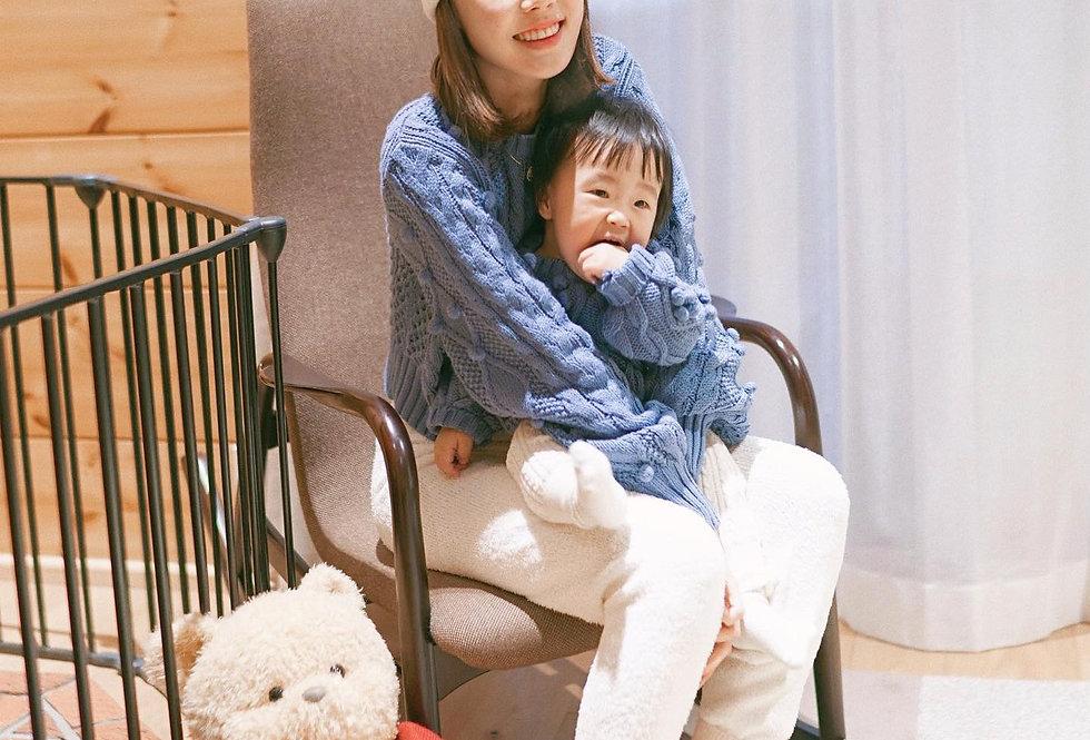 SISLAND經典款 Pom Pom Knit Sweater