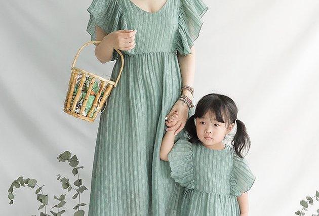 橄欖綠連衣裙 Olive Green Ruth Dress