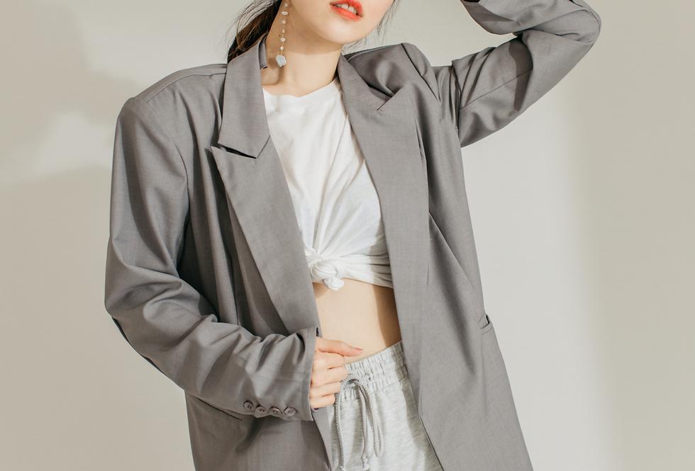 Athflow風~ 西裝外套+運動短褲 Astrid Gal