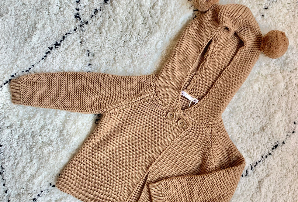 差不多賣完啦!Teddy Bear Cardigan