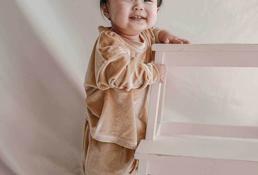 🔺Kids SALE🔻 Champagne Gold Casual Set