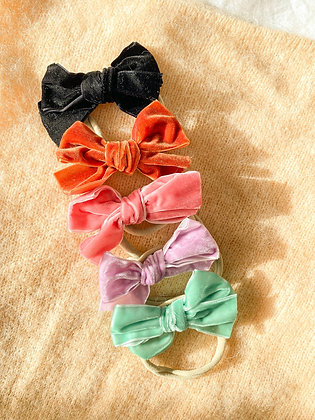 Velvet Ribbon Baby Headband