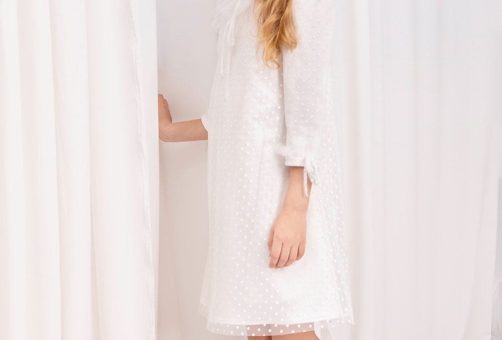 Lalumière系列-波點連衣裙