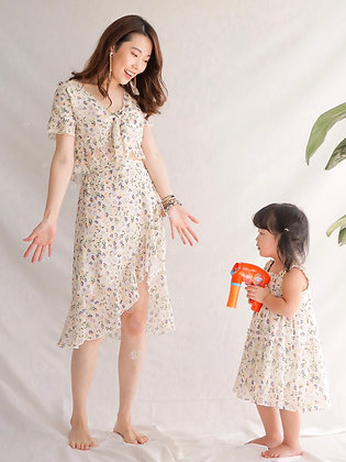 Early Bird Skirt and Crop Top Dress