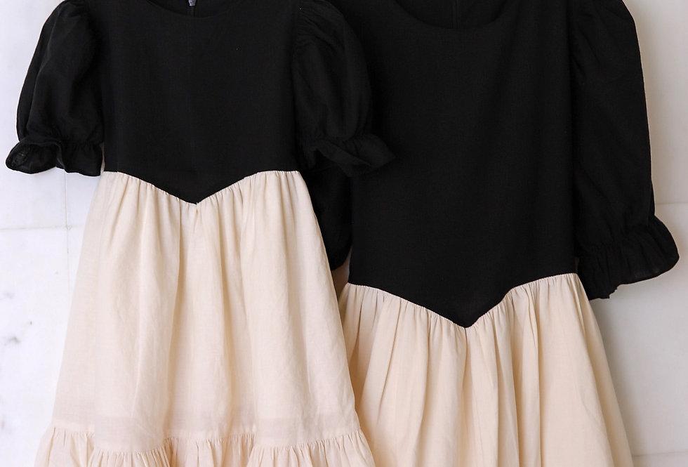 Victorian Puff Sleeve Dress