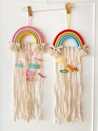 Rainbow Hair Clip Holder