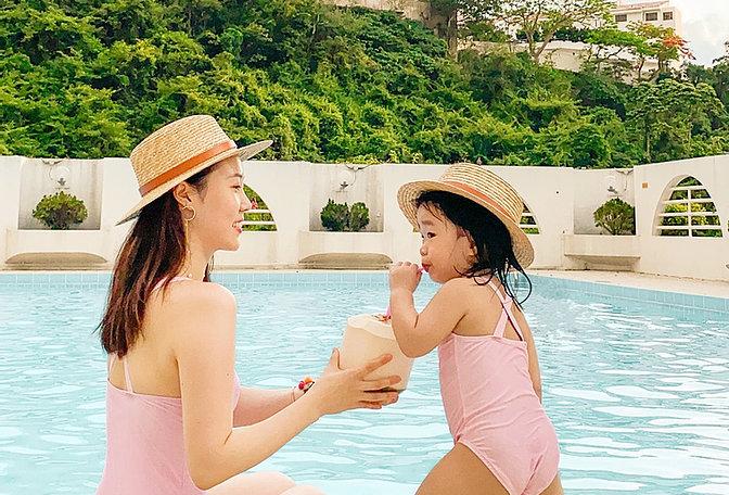 粉嫩氣色泳裝 Ballet Pink One-piece Swimsuit