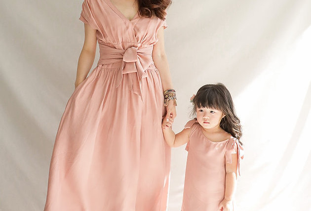 拍家庭照必穿 Blooming Rose Dress